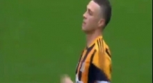 James Chester Goal ~ Arsenal vs Hull City 0-1 ~ [17/05/2014] Fa Cup Final