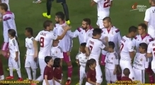 Seydou Keita refuses to shake hand with Pepe and then throws a  water bottle at him 2014 HD
