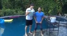 Ashton Kutcher ALS Ice Bucket Challenge