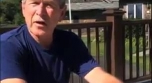 George W. Bush Ice Bucket Challenge