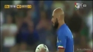 De Rossi Goal pen - Italy 2-0 Netherlands - 04/09/2014 [Friendly Match]