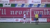 Arjan Kok Goalkeeper urine into his own net during the match | CSV Apeldoorn vs Excelsior 31