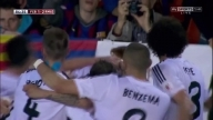 Gareth Bale goal vs FC Barcelona Copa Del Rey Final 2014 English commentary
