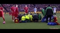 Martin Skrtel injury • Liverpool vs Blackburn Rovers • Fa Cup 2015