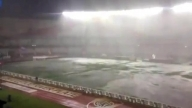 Argentina vs Brazil POSTPONED HEAVY RAIN Stadium 1 hour before kickoff World Cup qualification
