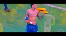 Referee refuses Neymar's shirt - Brazil vs Peru (Full Video) 2015