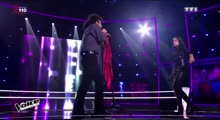 Araz Humbetov vs Lena 'What's up' 4 NON BLONDES The Voice 5 France