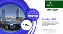 TOP10 deals from local Rent a car Baku companies, May 2020