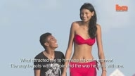 Tall Model Finds Love In Brazil