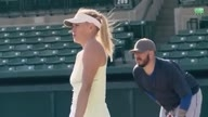 Maria Sharapova racket test