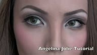 Angelina Jolie Make-up Transfation
