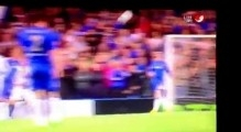 d Luiz awesome goal vs Basel 3-1