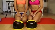 Girls Workout with Xtreme Rollers!