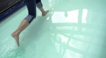 Can You Walk on Water? (Non-Newtonian Fluid Pool)