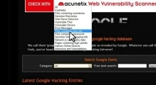 Google Hacking Database Nedir